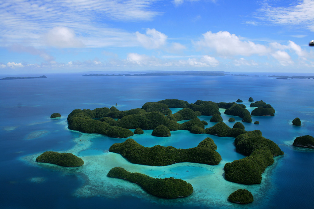 Castleman Portfolio - Palau's Rock Islands