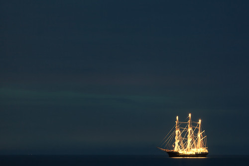 Ghostly galleon | by Mark J P