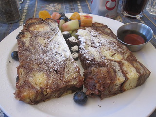 cinnamon french toast at Bonjour Brioche | by All About Eve