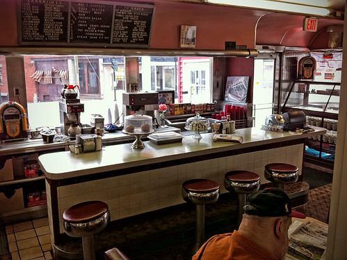 inside the Red Robin Diner | by shebicycles