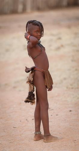 Himba kid