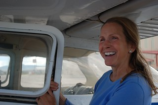 bonnie schumaker and plane 3 | by NRDC pix