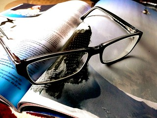 I'm done reading my magazine, I quit. magazine & eyeglasses | by photosteve101