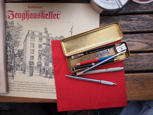 Friend's Pencase, lunch at Zeughauskeller Restaurant Zurich | by Patrick Ng