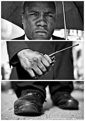 Triptychs of Strangers #18, The Revolutionary Security Guard - London | by adde adesokan