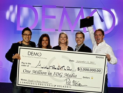 DEMO Fall 2011 Awards Ceremony | by The DEMO Conference