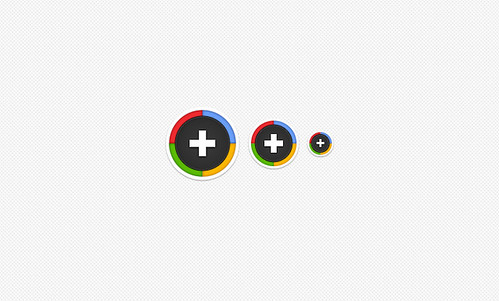Sexy Round Google Plus Icons | by Zack D. Smith