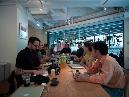Safecast meeting at Loftwork | by Joi