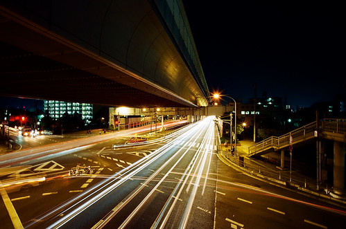 Amagasaki industrial zone @ night | by miho's dad