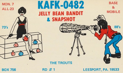 Jelly Bean Bandit & Snapshot - Leesport, Pennsylvania (KAFK-0482) | by The Cardboard America Archives