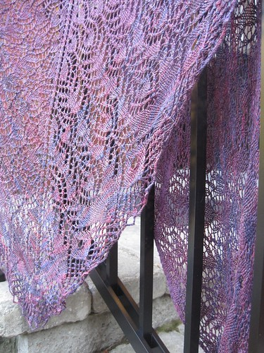 Oct9-Shawl1 | by crazyknittinglady