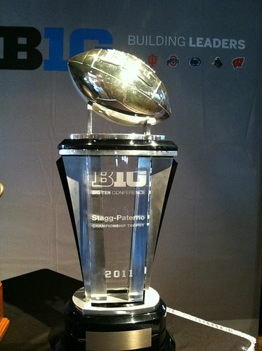 Image result for big 10 trophy