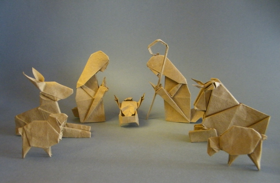 Origami santa claus instructions youtube - 24 Holiday Themed Origami Models To Fill You With