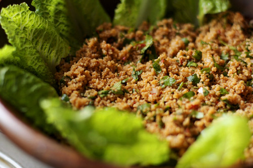 Turkish Bulgur Salad (Kisir) | by AZ Cookbook
