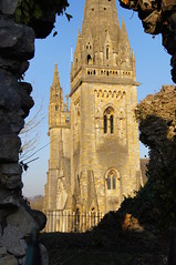 Llandaff Cathedral by Oliver E Hopkins