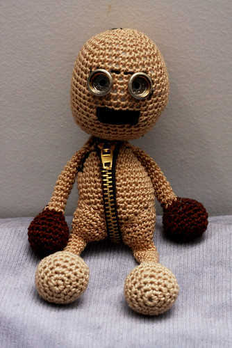 Tim Burton and Shane Acker's 9: 9 Stitchpunk Doll | by deadcraft