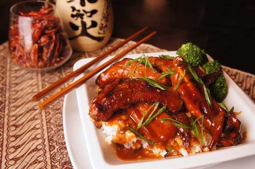General Tso's Braised + Glazed Spare Ribs | by NoLoveMoreSincere