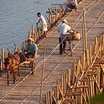 Bamboo bridge (Kompong Cham, Cambodia 2011)