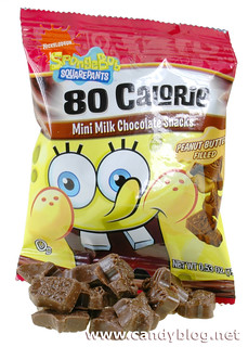 SpongeBob Squarepants Mini Chocolate Peanut Butter Filled Snacks | by cybele-