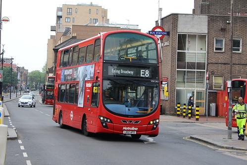 Metroline VW1262 on Route E8, Hounslow Bus Station