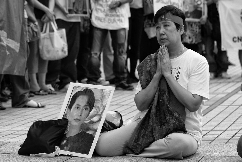 Praying For Burma