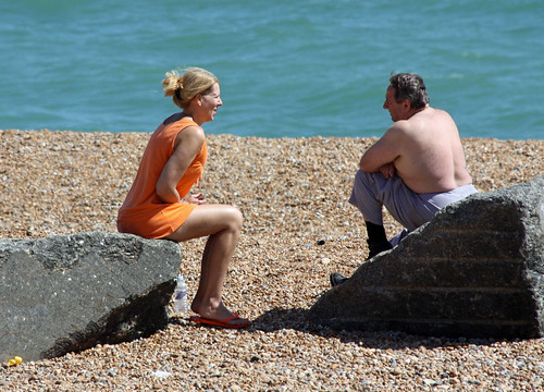 Folkestone Beach - July 2010 - Mature Candid - Yes Dear I Did Turn the Gas Off | by gareth1953 Cataract Creating Chaos