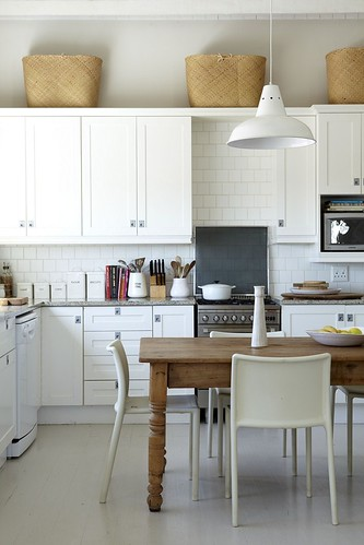 Warren Heath / Frank Features / House and Leisure {white rustic scandinavian modern kitchen} | by recent settlers