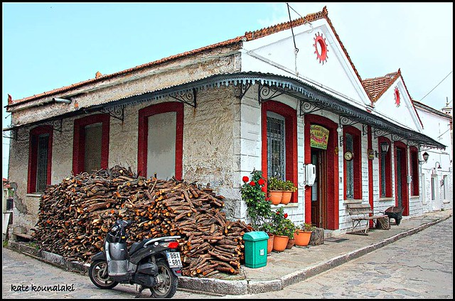 Image of the Lefkas Bakery, courtesy of K Kounelaki - visit her flickr page by clicking here