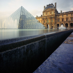 The Louvre by pinhole