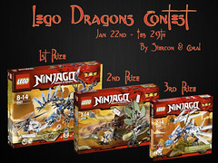 Lego Dragons Contest by Siercon and Coral