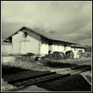 Marsac Railway Station (4) | by mikeinlagardette