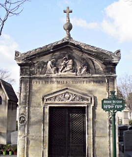 Montparnasse Cemetery, Paris, France | by Grangeburn