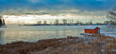 St. Lawrence River, Summerstown, Ontario by dick.budge