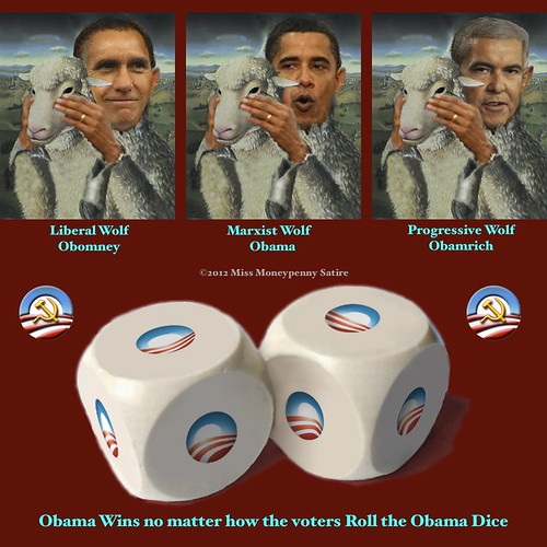Obama Wins no matter how the voters Roll the Obama Dice | by Moneypenny 008