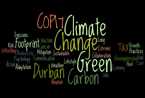 Climate Change #COP17 Wordle | by planeta