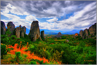 Meteora  (Hdr) | by ATSICHLAS (Busy)