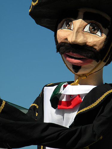 Mexican Independence Day - Paper Mache Mariachi