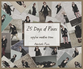 aDORKable Poses: 25 Days of Poses | by Adorkable Peapod