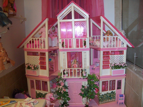Stanley Barbie Dream House My Barbie Dream House Is