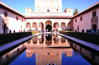 Pool Reflections, Nasrid Palace...The Alhambra, Granada, Spain | by Nancie (Ladyexpat)