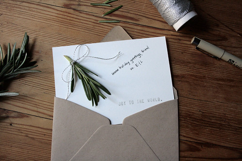 card and envelope | by reading my tea leaves