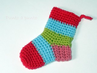 Little Christmas Sock | by ♪ Punto a punto ♪