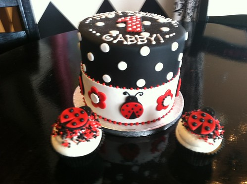 Lady Bug Birthday Cake | by Designer Cakes By April
