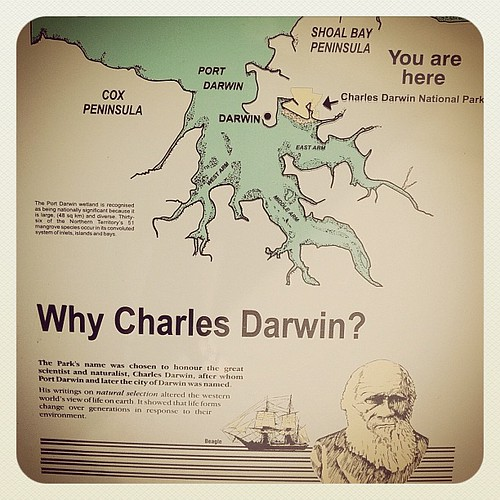 Why Charles Darwin? Because SCIENCE!!1 | by tahinikill
