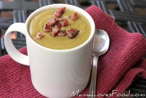 Slow Cooker Split Pea Soup | by MommyNamedApril