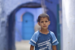 273. Cute Little Boy, Chaouen, Morocco _ | by Charlottine'sPics - ingridstainier.com