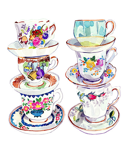 Vintage Teacup Collection | by holly exley