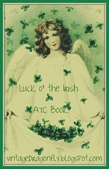 Luck O' The Irish ATC Book Swap by Vintage Dragonfly