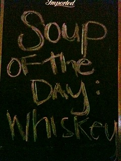 Soup of the day: Whiskey | by Schill