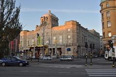 Королевский драматический театр. STOCKHOLM - Strandvägen - Kungliga Dramatiska teatern 'Dramaten'